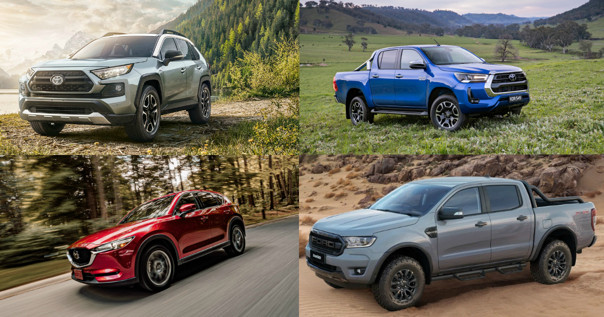popular new cars australia